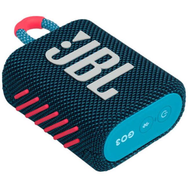 Портативна акустика JBL GO 3 Blue/Pink (JBLGO3BLUP)