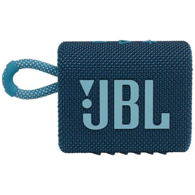 Портативна акустика JBL GO 3 Blue (JBLGO3BLU)