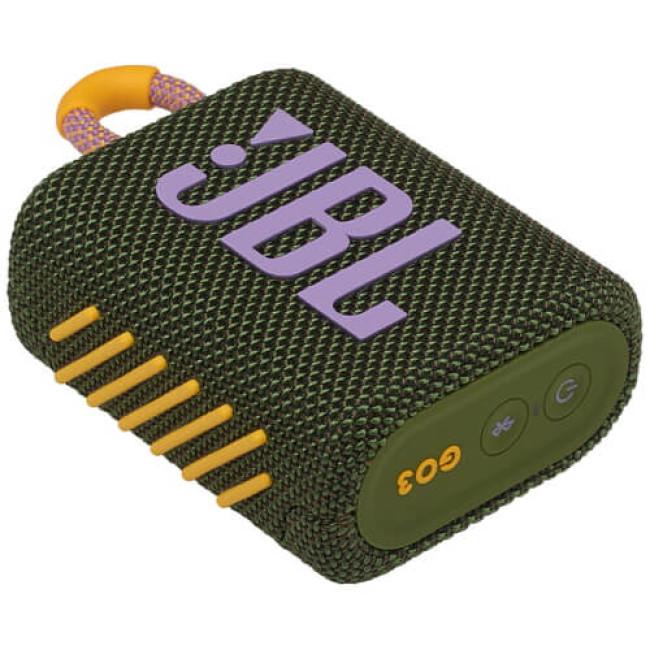 Портативна акустика JBL GO 3 Green (JBLGO3GRN)