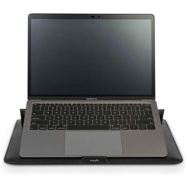 Чохол-карман Moshi Muse Slim Laptop Sleeve for MacBook 13'' Jet Black (99MO034008)