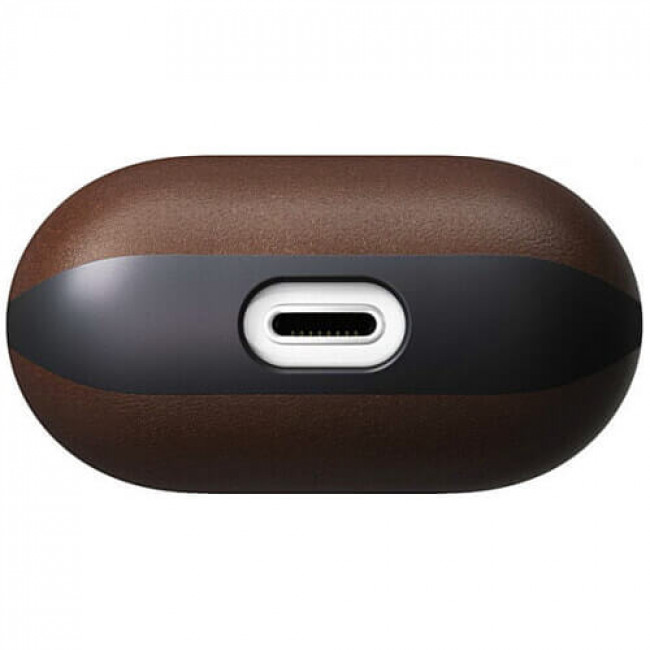 Чохол Nomad Rugged Case Brown Leather V2 for Airpods (NM220R0X00)