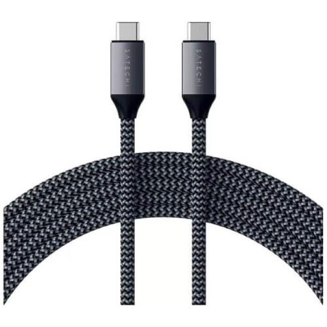 Кабель Satechi USB-C to USB-C Cable 100W Space Gray 2 m (ST-TCC2MM)